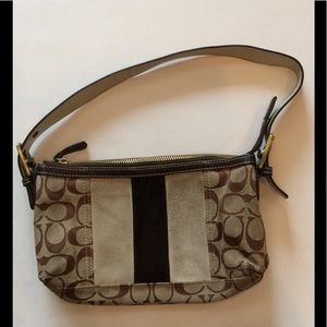 Authentic Coach signature handbag. GUC